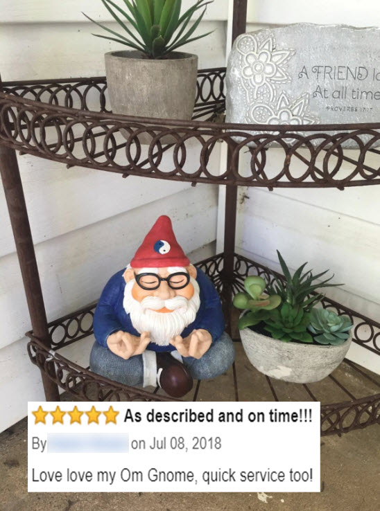 Twig and Flower Ohm Gnome 7-8-18